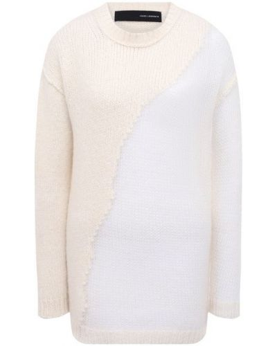 Шерстяной свитер - белый Isabel Benenato