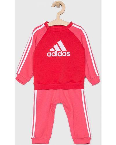 Розовый костюм Adidas Performance