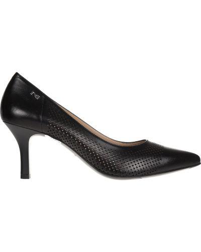 Кожаные туфли - черные Nero Giardini