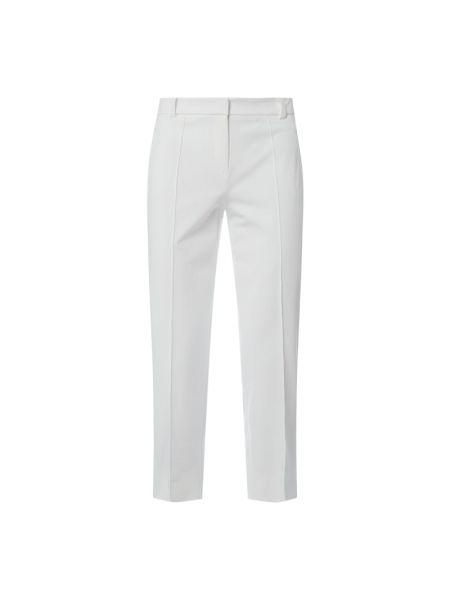 Białe spodnie materiałowe Riani