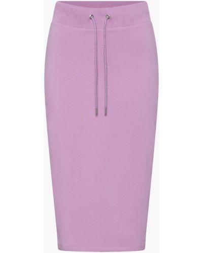 Fioletowa spódnica ołówkowa bawełniana Orsay