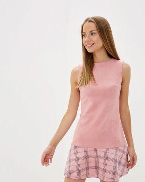 Платье розовое прямое Pavesa