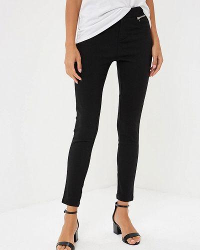 Черные брюки зауженные Yumi