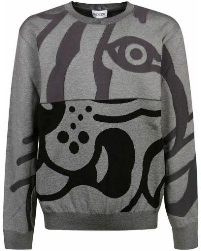 Sweter oversize - szary Kenzo