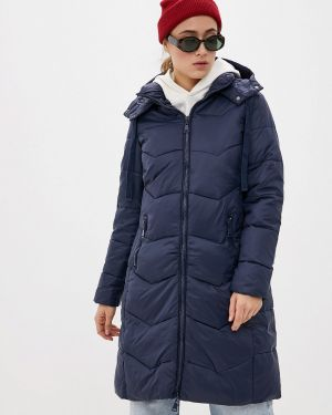 Синяя утепленная куртка Macleria