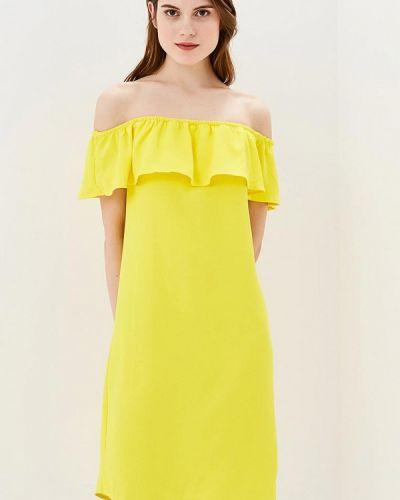 Желтое платье Modis