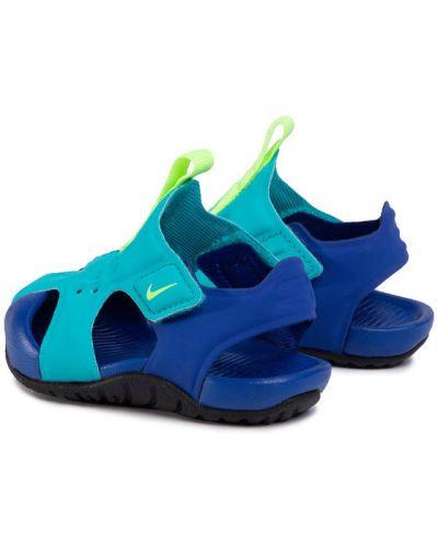 Niebieski sandały Nike
