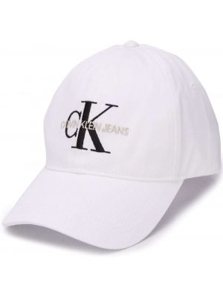 Кепка белая с логотипом Calvin Klein