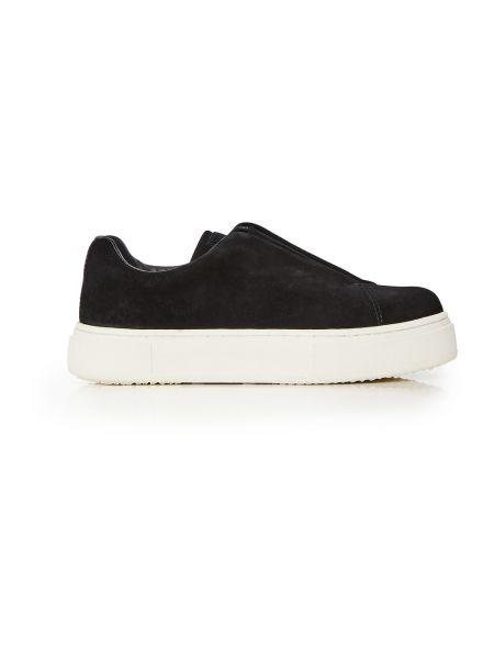 Czarne sneakersy zamszowe Eytys
