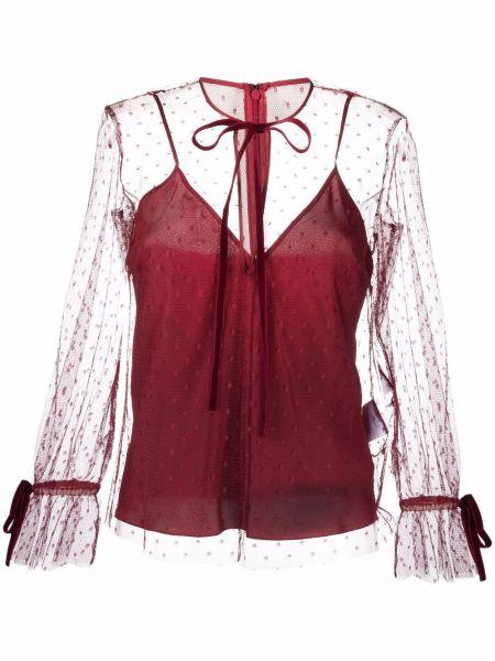 Bluzka z długimi rękawami Red Valentino