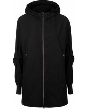 Приталенная облегченная черная куртка с капюшоном на молнии Icepeak