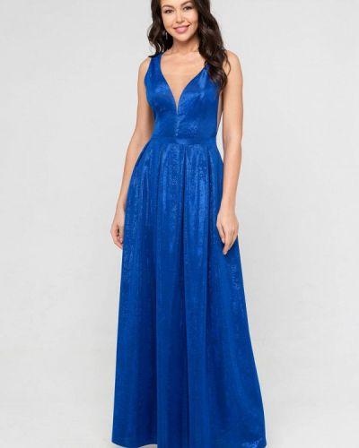 Вечернее платье - синее Eva