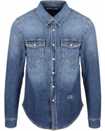 Niebieska koszula jeansowa Givenchy