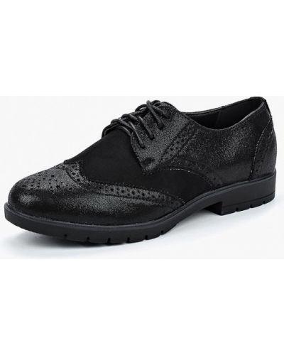 Черные туфли на каблуке Vh