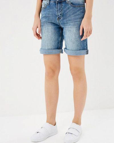 Голубые джинсовые шорты Savage