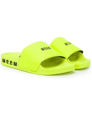 Шлепанцы для обуви Msgm Kids