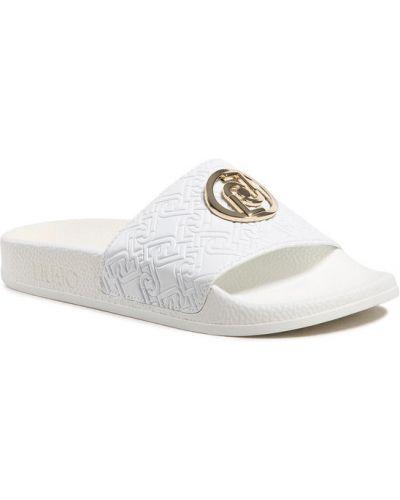 Białe klapki Liu Jo