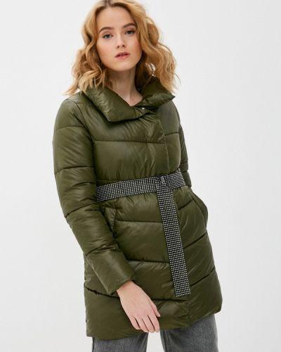 Зеленая утепленная куртка Fadjo