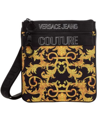 Torebka crossbody z haftem Versace Jeans Couture