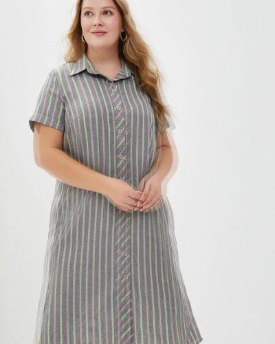 Платье серое платье-рубашка Borboleta