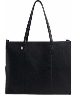 Czarna torebka do pracy Beis