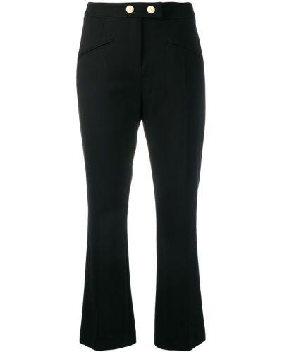 Укороченные брюки - черные Cavalli Class