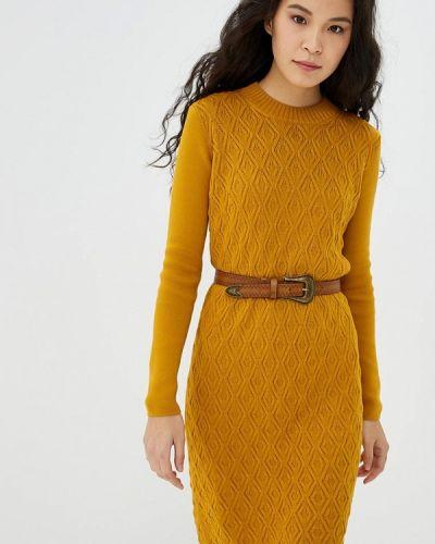 Платье - желтое Marytes