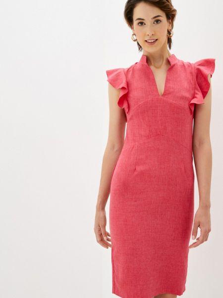 Розовое повседневное платье Maurini