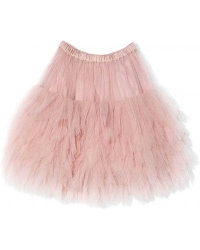 Różowa spódnica tiulowa Tutu Du Monde