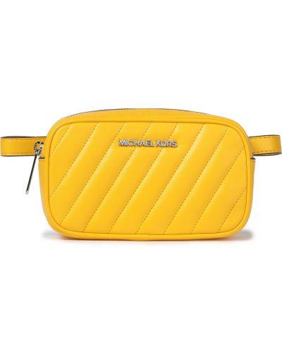 Pasek srebrny - żółty Michael Michael Kors