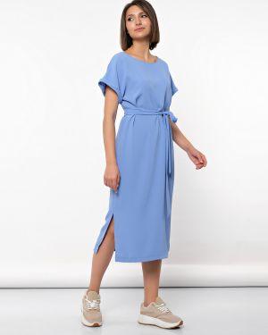 Платье миди с поясом платье-сарафан Jetty