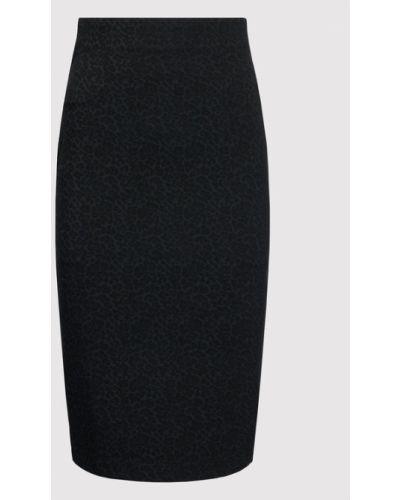 Czarna spódnica ołówkowa Guess