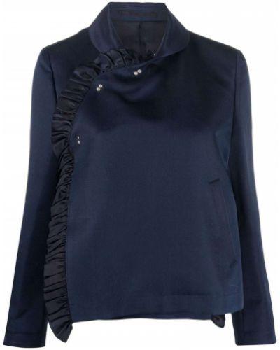 Пиджак длинный - синий Comme Des Garçons Noir Kei Ninomiya