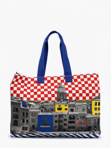 Пляжная сумка весенний United Colors Of Benetton