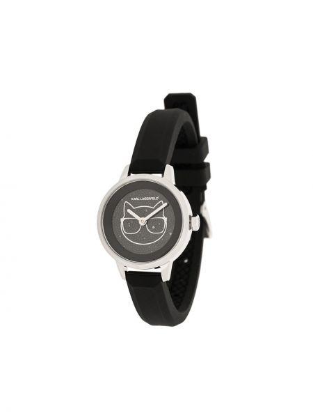 Zegarek szary czarny Karl Lagerfeld