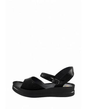 Кожаные черные сандалии Libero