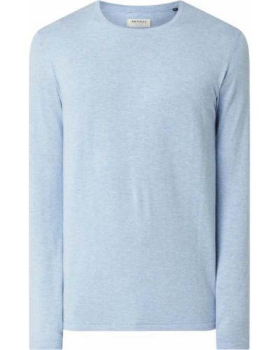 Niebieski sweter bawełniany Mcneal