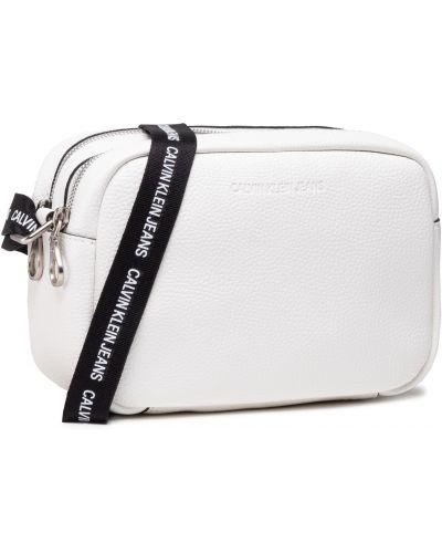 Biała torebka Calvin Klein Jeans