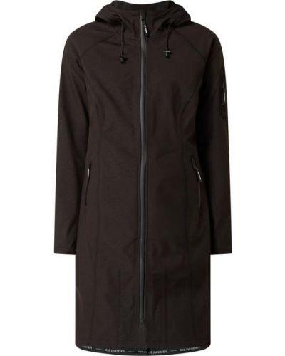 Czarny płaszcz softshell Ilse Jacobsen
