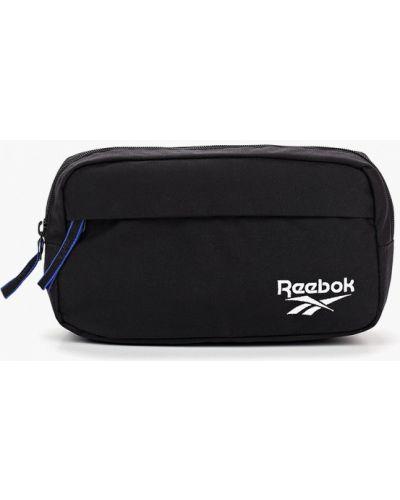 Поясная сумка текстильная черная Reebok Classics