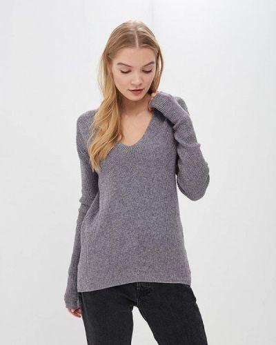 Пуловер серый Piazza Italia