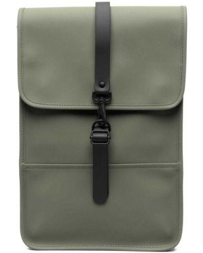 С ремешком зеленая сумка на плечо на бретелях Rains