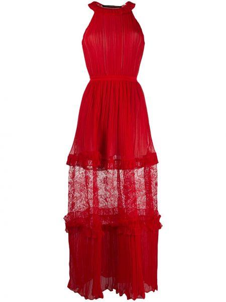 Платье макси с вышивкой шелковое Antonino Valenti