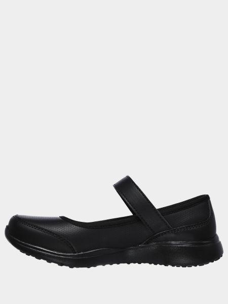 Черные балетки Skechers