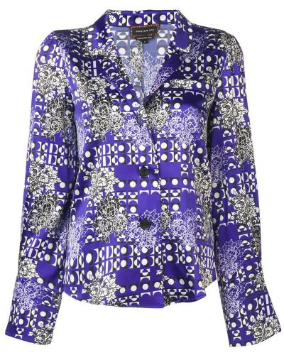 Синяя рубашка Snow Xue Gao