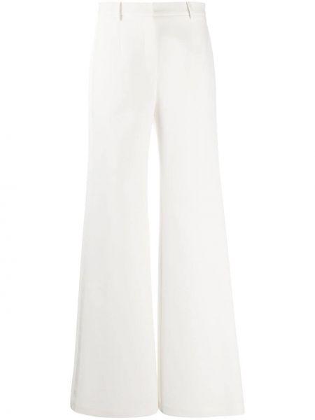 Свободные расклешенные белые брюки Magda Butrym