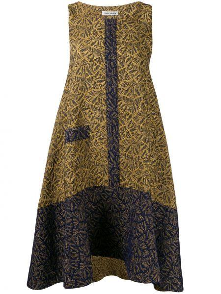 Платье с оборками расклешенное Henrik Vibskov
