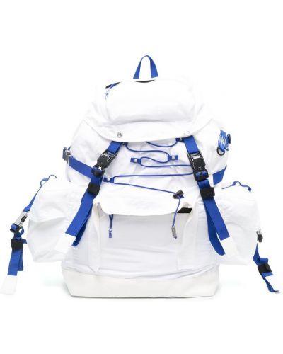 Biały plecak z klamrą bawełniany Ader Error