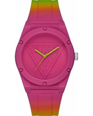 Водонепроницаемые часы розовый кварцевые Guess Originals