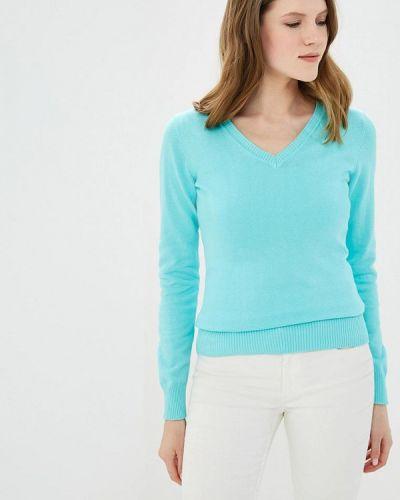 Бирюзовый пуловер Baon